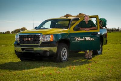 Weed Man: North America's largest franchised lawn care organization