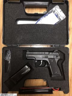 For Sale: Like New CZ RAMI BD 9mm Black with Factory Night Sights and Dekocker