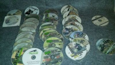 Find ARCTIC CAT DVD LIBRARY SHOP MANUALS 36+ motorcycle in Okeechobee, Florida, United States, for US $33.00