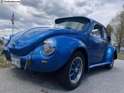 Custom 74 Super Beetle Bug New Paint Interior 1641
