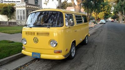 1972 VW Camper Bay Window Bus Type 2 FOR SALE