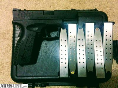 For Sale/Trade: Springfield XD w/ nights sits