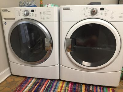 Maytag Epic Z washer and dryer