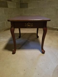 Cherry Wood Side Table