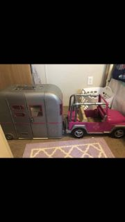 Doll Jeep and camper