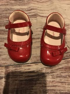 Toddler 6 red dress shoes