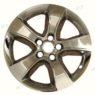 "Buy For 2011-14 Dodge Charger FOUR 17"" 5 Spoke Chrome Hubcaps Rim Covers Wheelskins motorcycle in Mundelein, Illinois, United States"