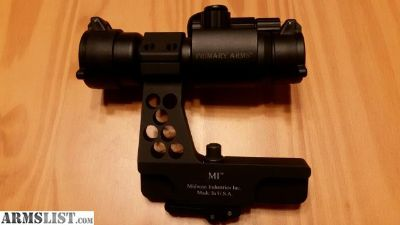 For Sale: MI AK side mount w/ PA 30mm Advanced red dot