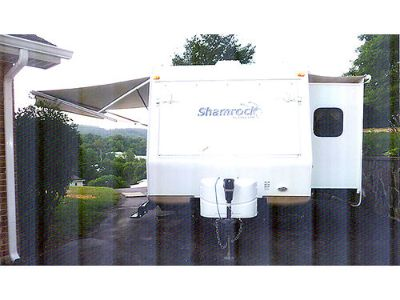 2012 SHAMROCK 21' TRAVEL TRAILER, SUPERSLIDE, SOFA, ...