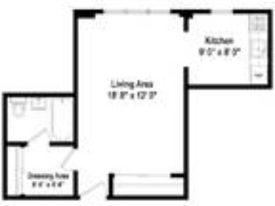 Scholars Corner Apartments - Studio Floor Plan S2