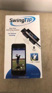 Swing tip - golf swing analyst