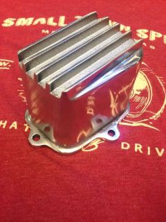 Purchase Briggs POLISHED TALL Finned VALVE COVER animal world formula minibike l206 motorcycle in McKinney, Texas, United States, for US $69.99
