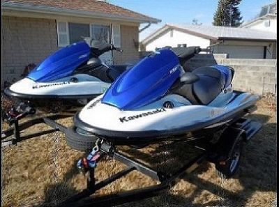 ?Two 2006 Kawasaki STX-12F Jet-Skis with Trailer?