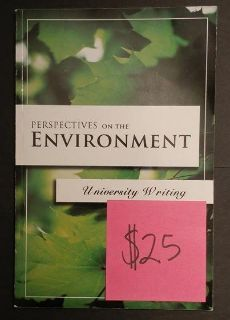 Perspectives on the Environment: University Writing