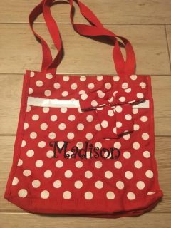 Canvas Tote w/ Madison embroidered on it