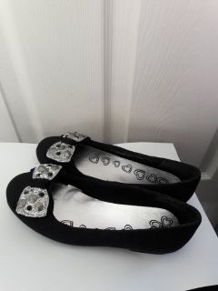 Brand New Children's Place Girl's Size 1 Flats Without Tags - Never Worn