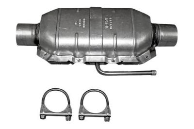 Buy Omix-Ada 17601.04 - 1975 Jeep CJ Front Catalytic Converter Kit w Hardware motorcycle in Suwanee, Georgia, US, for US $220.04