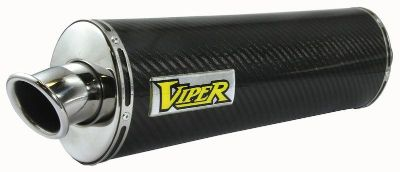 Find Viper Honda VFR400 NC30 89-93 Motorcycle Carbon Fiber Oval Slip-On Exhaust motorcycle in Ashton, Illinois, US, for US $313.48