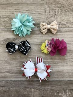 Lot of 5 misc. bows.