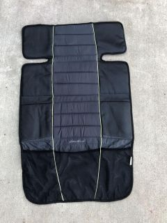 Eddie Bauer car seat cover for your vehicle to protect seats while under a car seat or booster