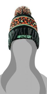 Sell New Arctic Cat Animal Print Womens Beanie 5273-098 motorcycle in Pandora, Ohio, United States, for US $19.95