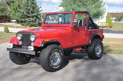 1986 Jeep CJ-7 Laredo Fully Restored