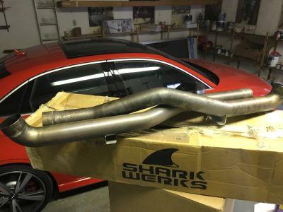 Shark Werks Exhaust 997.2 Turbo/ Turbo S