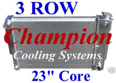 Find 1967 1968 1969 Chevy Camaro 3 Row Aluminum Radiator Part # CC370 motorcycle in La Verne, California, US, for US $219.95