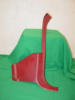 Purchase 83-93 Ford Mustang GT LX Convertible Passenger Side Red Kick Panel 92 91 90 88 motorcycle in Franklin, Indiana, US, for US $9.99