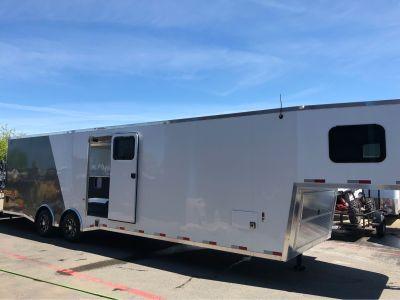 """2019 Charmac Trailers 30' X 102"""" TRI SPORT Trailer Elk Grove, CA"""