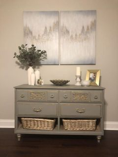French style ~ antique dresser
