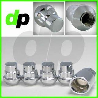 Find Locking Lug Nuts/Wheel Locks, Closed Bulge Acorn/Cone Seat, Chrome, Qty 4, motorcycle in Kent, Washington, US, for US $11.95