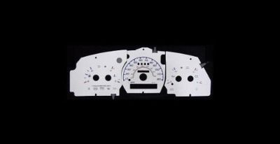 Buy 120MPH Indiglo Euro Reverse Glow Gauge Faces For 1995-1997 Ford Ranger w/o Tach motorcycle in Monterey Park, California, United States, for US $24.99
