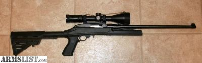 For Sale: BLACKHAWK! Ruger 10/22 Axiom R/F Knoxx Stock Full Float Barrel Polymer