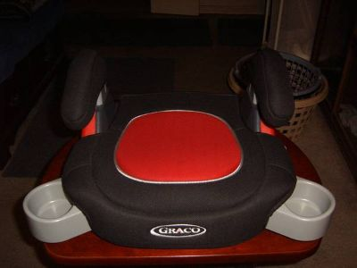 BACKLESS CAR BOOSTER SEAT