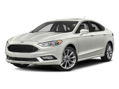 2018 Ford Fusion Titanium (Oxford White)
