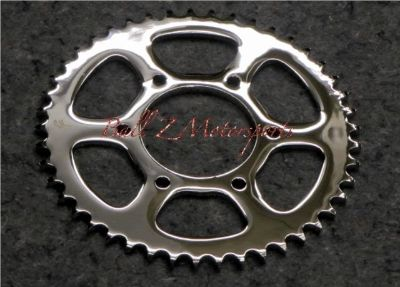 Sell Chrome Steel 43t 43 th tooth 530 Pitch Rear Sprocket for RC Component Wheels!! motorcycle in Plattsburg, Missouri, US, for US $64.99