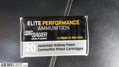 For Sale: Sig Sauer 9mm 124gr jhp. Blazer brass 9mm 115gr. Federal 9mm +P 115gr jhp