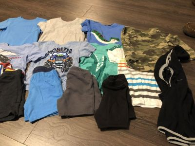 Daycare clothes lot