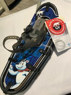 KID TRAIL Kid's SNOWSHOES, MADE IN CANADA NEW NWT