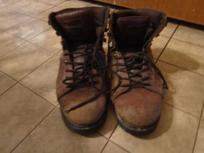Mens Texas Steer Flexcore work Boots size 10 1/2