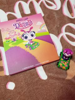 Giggle Land Play Board and Book with light up Car $2