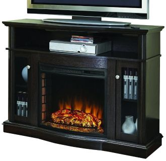 brand new electric fireplace media center