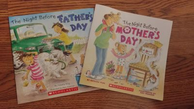 Night Before Mother's & Father's Day Books