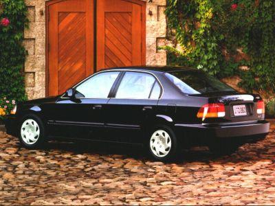 1998 Honda Civic LX (Taffeta White)