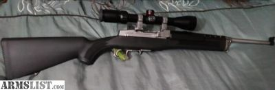 For Sale: RUGER 7.62 39 RANCH RIFLE STAINLESS