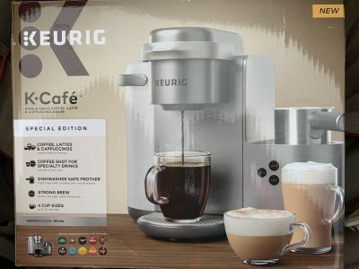 New Keurig K-Cafe Special Edition Latte, cappuccino & coffee maker