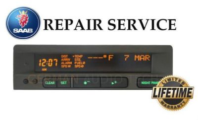 Sell SAAB 95 SID2 1 SIU RADIO INFORMATION DISPLAY 5263249 - PIXEL REPAIR SERVICE FIX motorcycle in Long Beach, California, United States, for US $64.95