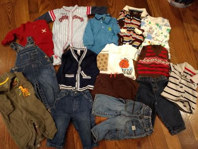 Boys 6-12 month lot (some 6-9, 9-12)