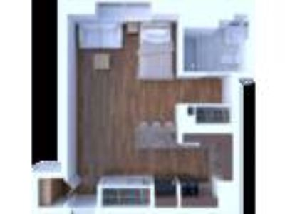 The Flamingo Apartments - Studio Floor Plan S2
